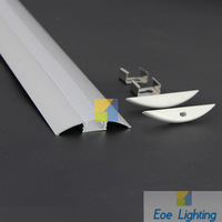 DHL/FEDEX/EMS Free shipping- LED profile for flexible and rigid LEDs