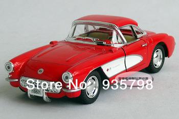 Soft world veidt 1957 webworm kinsmart red alloy car models free shipping