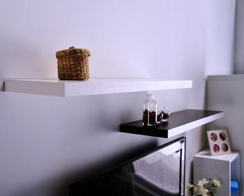 Alice Shop Minimalist modern style Even Wall Plate(Short)/ Decorative shelf / wall plate P2 level green book shelf