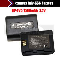 Np-fv5 digital camera battery domestic camera hdv-666 battery,Rechargeable Battery 3.7v 1500MA Free Shipping