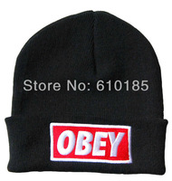 OBEY Hip-hop knitting wool Beanie Hat knitted cap