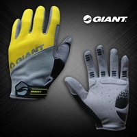 2013 mens GIANT Nylon T motorcycle racing bike cycling gloves shockproof motorcross MTB leather winter bicycle gloves