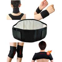 Free shipping Tourmaline self-heating waist support belt neck double-shoulder kneepad wrist support self-heating set 7 piece set