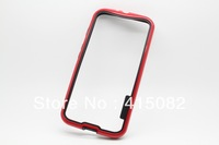 PC+TPU Bumper For Motorola MOTO X Bumper for MOTO X Bumper with Fashion Design 6 Colors Available-Free Shipping
