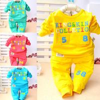 Toddler Alphabet 2 Pieces Babysuit of Spring & Autumn TZ0064