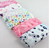 Dropshipping Baby cotton children panties kids briefs bread under bb underwears girls triangle mixcolor 12pcs/lot Free shipping!