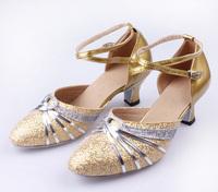 new 2014  fashion Hot-selling women  modern dance shoes Latin dance shoes