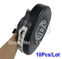 Hot Sell 10pcs/Lot Wholesale Black Boxing Mitts Training Focus Punch Pads Sanda Glove Muay MMA Thai Karate Muay Kick Kit TK0930