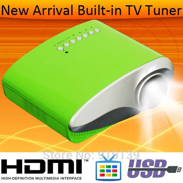 Good Quality Mini Projector HDMI USB TV Tuner For Home Used PS2 Wii Xbox LED Video Projecteurs Proiettore Projektor Projektori(China (Mainland))
