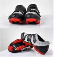 New 2014 Hot Sale Men's Cycling Shoes Men's Bicycle Sports Shoes Bicycle Mountain Shoes Bike Shoes Free Shipping