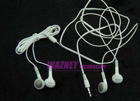 Cheapest Earphone For  iPod/iPhone/Mp3, MP4 Player with 3.5mm Headphone 5000pcs/lot +Free Shipping