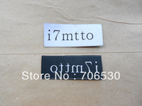 Free Shipping Customized High Quality Garment Label Damask Label For Clothing Woven Label Sample Order