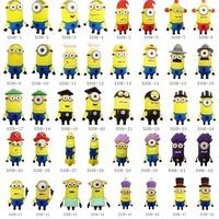 Despicable Me Minions Cartoon usb flash disk 2-32gb USB Flash Drive Memory Stick Pen/Thumb Drive 50pcs/lot