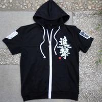 2013 New Attack on Titan Cosplay Pure  cotton kid Hoodies Sweatshirts Free shipping