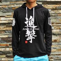 2013 New Attack on Titan Cosplay 100% cotton Long sleeve hoodie sweatshirt outerwear kid Hoodies Sweatshirts Free shipping