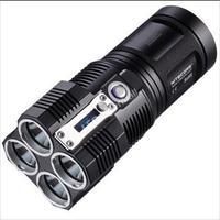NITECORE TM26 Tiny Monster 4x Cree XM-L U2 3500-Lumen LED Flashlight Torch (4*18650/8*CR123)