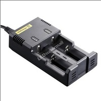 NITECORE Intellicharger i2 Battery Charger for 22650/26650/18650/17670/18490/17500/17335/16340(RCR123)/14500/10440 Batteries