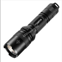 Nitecore MT25 390lumen LED Flashlight Torch with LED Cree XP-G R5 LED (1*18650/2 *CR 123 Battery)