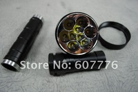 UltraFire 9T6 Torch 9xCree XM-L T6 9500-Lumen 5-Modes LED Flashlight(3*26650)