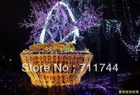 Free shipping/10colors 50m 400leds waterproof string Lights with 8 Lighting Modes  for Wedding Christmas  w/ End Plug EU Plug