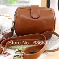 Women's leather handbag 2013 vintage camera bag fashion one shoulder cross-body bag messenger purse