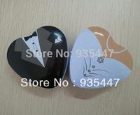 Bride groom Mint tin wedding favor box 150 PCS/LOT free shipping dressed  wedding candy box
