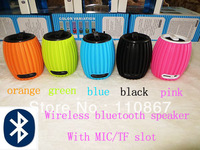 Q8 wireless bluetooth speaker with MIC Best Christmas gift wholesale 100pcs DHL free shipping