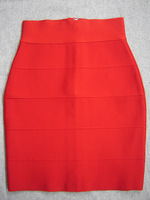 (DEIVE TEGER)Free Shipping  bandage Skirt   ,Bridesmaid ,Sexy Evening skirt ,2 colors HS001