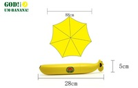 Fashion hot seal Banana umbrella pencil folding sun umbrella automatic umbrella Free Shipping