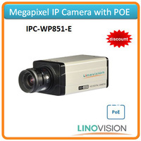 Freeshipping Linovision 720P Box IP camera IPC with POE