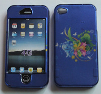 Big Discount Various patterns Front and back Hard cover cell phone Case for iphones 4 4S 4G Free Shipping