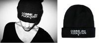 2014 New Arrival Autumn-Winter Beanie SSUR COMME DES FUCKDOWN Beanie Hat For Men Women Baseball Cap Adults Unisex Hats