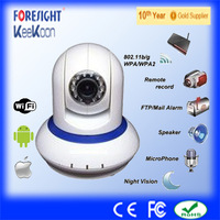 H.264 720P wifi IP Camera/Motion Detection/alarm/IR-Cut night vision/TF card/Two-way audio/smart phone view/P2P cam Freeshipping