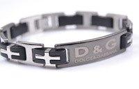 Top Quality Men Stainless Steel Bracelet  Corss Chain ID Bracelet  Free Shipping