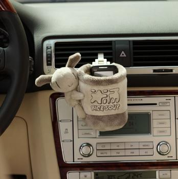 Icaroom Cheap Car Accessories Interior decoration air conditioning vent debris bags / compartment tube