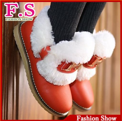 Fashion 2013 Women's Ankle Boots Thick Warm Fur Lining Winter Boots For Women Casual Dress Cold Winter Outdoor Shoes WB697(China (Mainland))