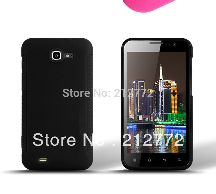 TPU Case for Newman N2 Case FreeLander i20 Silicon Anti-Skid Cover Black Color Free Shipping(China (Mainland))
