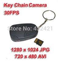 new 2014 Crazy cheap Hot sale mini camcorders Mini video hidden car key camera car key chain camera DV 808