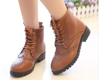 European vintage Martin boots for women lace up ankle boots shoes winter boots