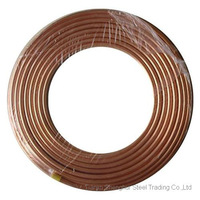 copper tube in grade C11000, MOQ 500 KGs