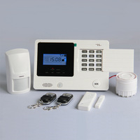 Intelligent Touch keypad Wireless GSM Security Alarm System with LCD screen