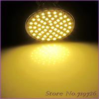 10 PCS/Lot  MR16 Warm White 450LM 5W 60 SMD 3528 LED Spotlight Light Lamp Bulb 220V-240V LED0243