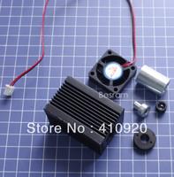 Focusable Housing Case Heatsink for 5.6mm TO18 Laser Diode LD Module Lens Fan