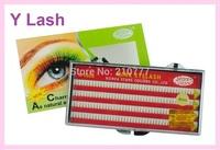 Knot-free eyelash extension Y lashes 8,10,12mm Flare eyelashes