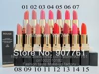 1PCs  2014 new Professional brand CC Makeup hot rouge lipstick tube*same original* Lips colour 15 different color drop shipping