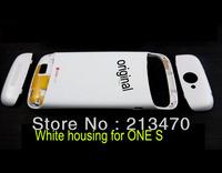 White Original Housing back case battery door FOR HTC One S Z520E G25 / Ville / Ville C2 cover black/blue + FREE TOOLS
