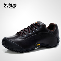 z.suo 21004 Glossy outdoor shoes hiking shoes men 's shoes to help low authentic sports waterproof