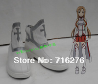 Kisstyle Fashion Sword Art Online Yuuki Asuna cosplay shoes boots Custom-Made