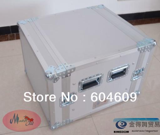 Professional DJ case,10 U shockproof case for Audio Amplifier(China (Mainland))
