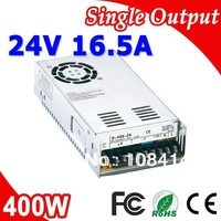 S-400-24 400W 24V Switching LED Power Supply Transformer 110V/220V AC Input to 24V DC output